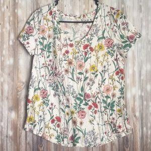Loft floral tee-shirt